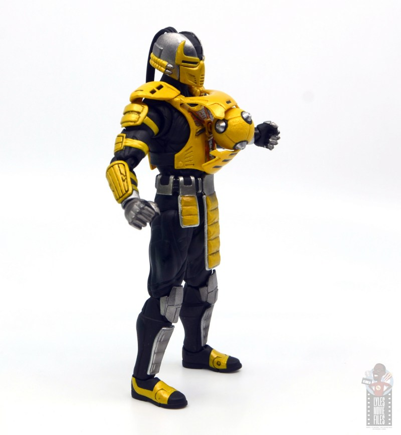 storm collectibles mortal kombat cyrax figure review - bomb blast