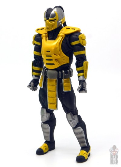 storm collectibles mortal kombat cyrax figure review -left side angle