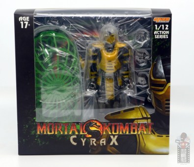 storm collectibles mortal kombat cyrax figure review - package front