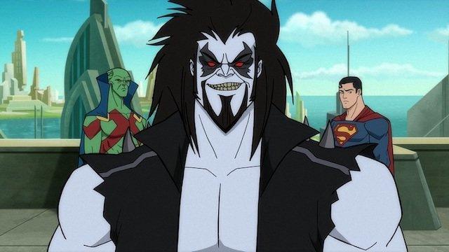 superman man of tomorrow - martian manhunter, lobo and superman