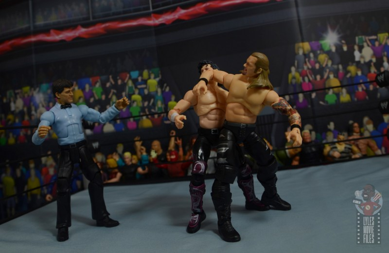 aew unrivaled chris jericho figure review - judas effect to kenny omega