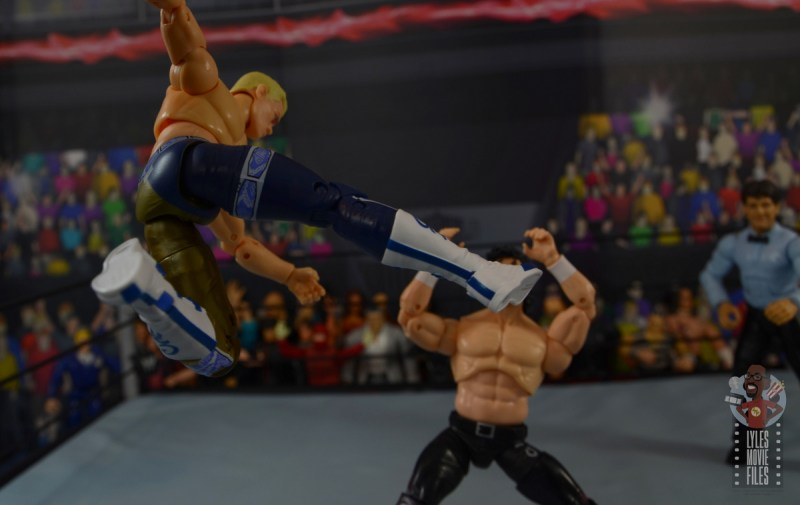 aew unrivaled cody figure review - beautiful disaster kick