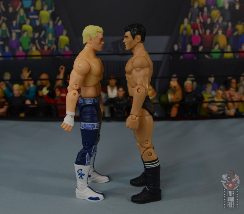 aew unrivaled cody figure review - facing mattel cody rhodes