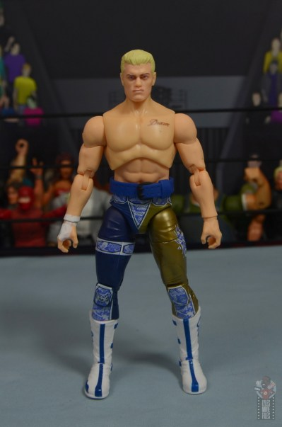 aew unrivaled cody figure review - front