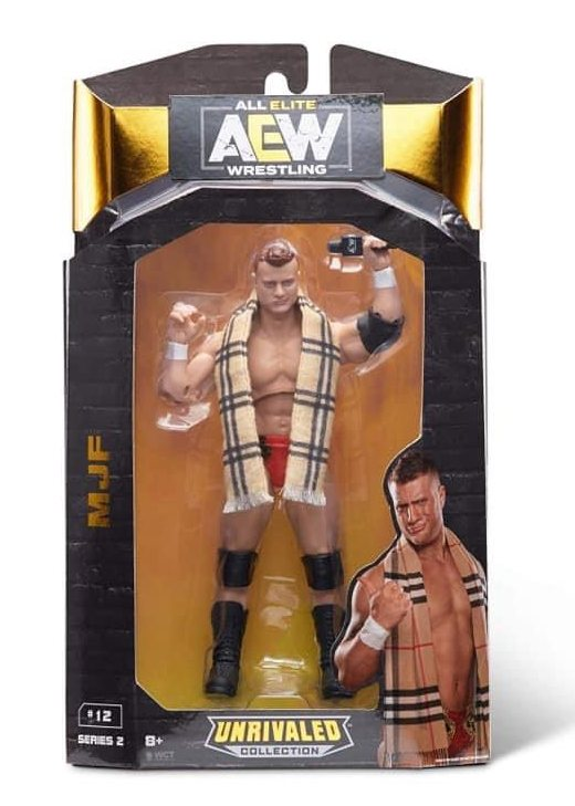 aew unrivaled wave 2 mjf front package