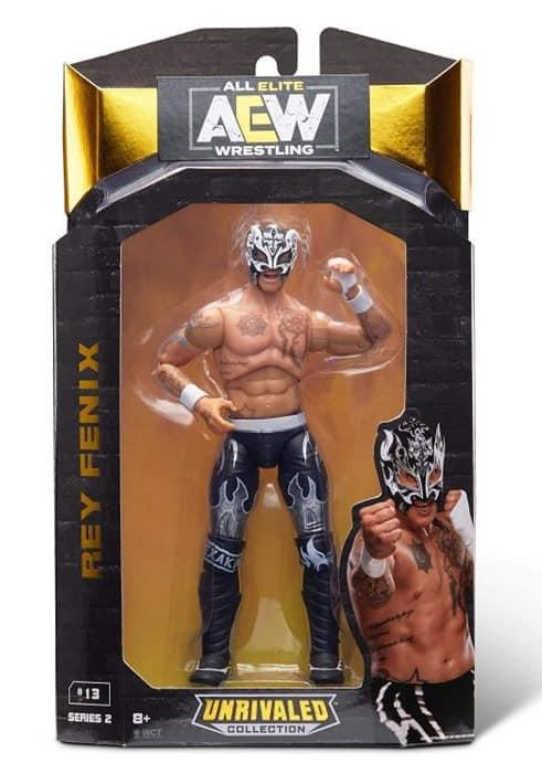 aew unrivaled wave 2 ray fenix front package