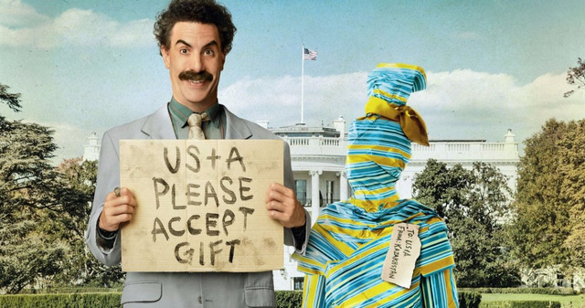 borat subsequent moviefilm review -borat