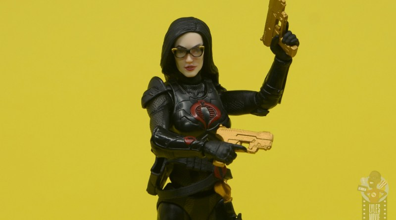 g.i. joe classified series baroness and cobra coil figure review - close up main