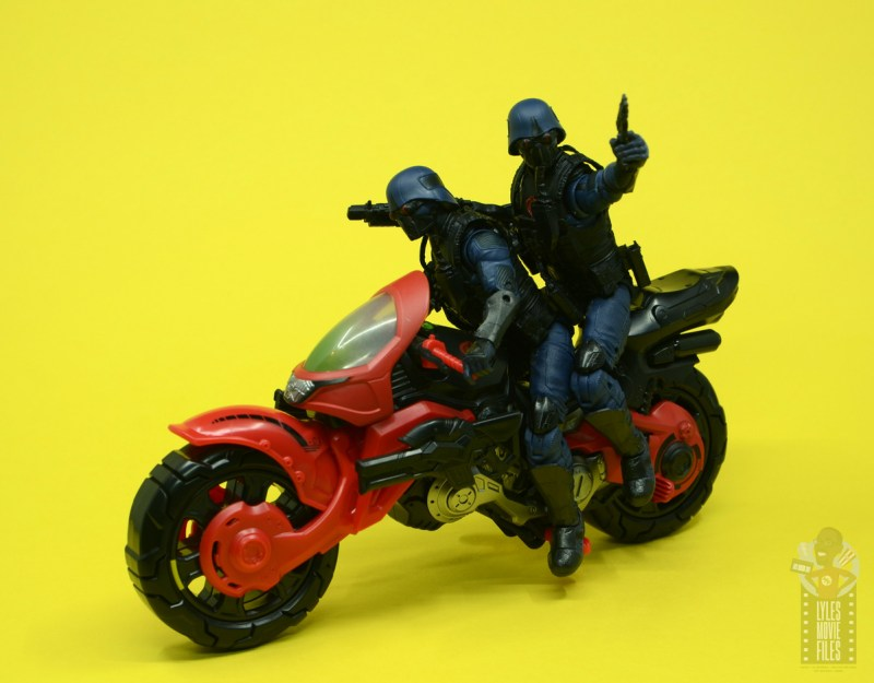 g.i. joe classified series baroness and cobra coil figure review - cobra troopers on coil