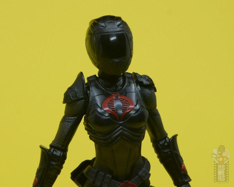 g.i. joe classified series baroness and cobra coil figure review - helmet close up
