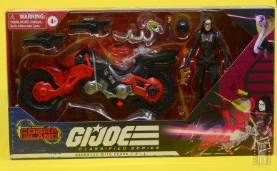 g.i. joe classified series baroness and cobra coil figure review -package front