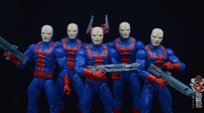 marvel legends hellfire club guard figure review - main pic