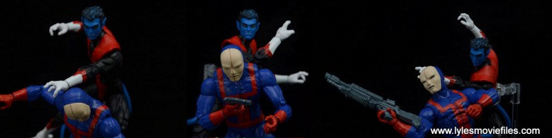 marvel legends hellfire club guard figure review - vs nightcrawler
