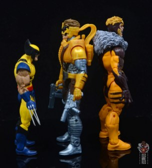 marvel legends maverick figure review -facing wolverine and sabretooth