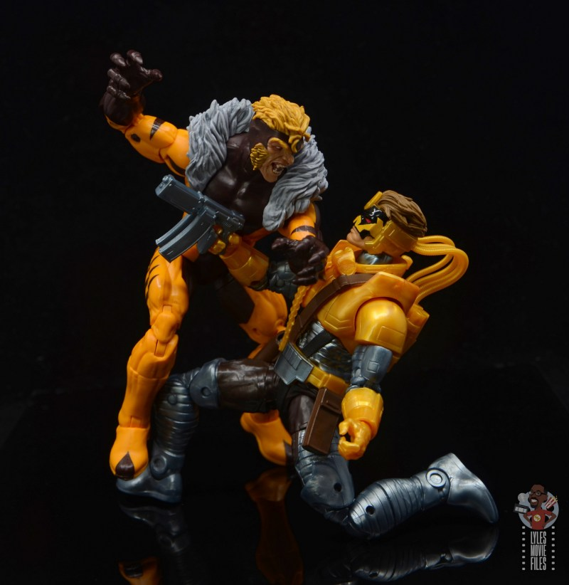 marvel legends maverick figure review - vs sabretooth
