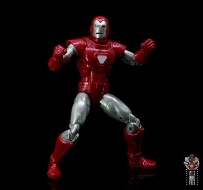 marvel legends silver centurion iron man figure review -battle stance