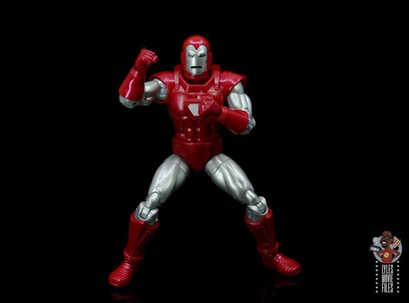 marvel legends silver centurion iron man figure review - cover homage