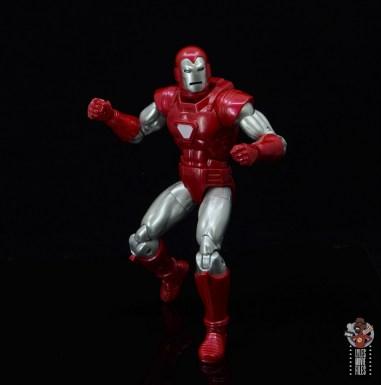 marvel legends silver centurion iron man figure review -pivoting