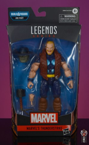 marvel legends thunderstrike figure review -package front