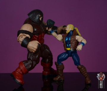 marvel legends thunderstrike figure review - vs juggernaut