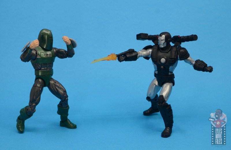 marvel legends war machine figure review - vs whirlwind