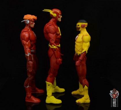 mcfarlane toys dc multiverse the flash figure review - facing dc multiverse flash and kid flash