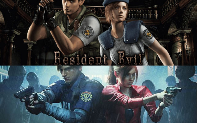 resident evil 1 and 2