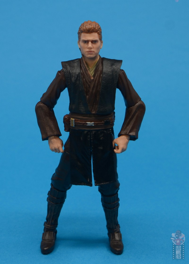 star wars the black series anakin skywalker padawan figure review - hands on hips