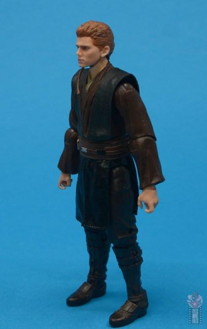 star wars the black series anakin skywalker padawan figure review - left side