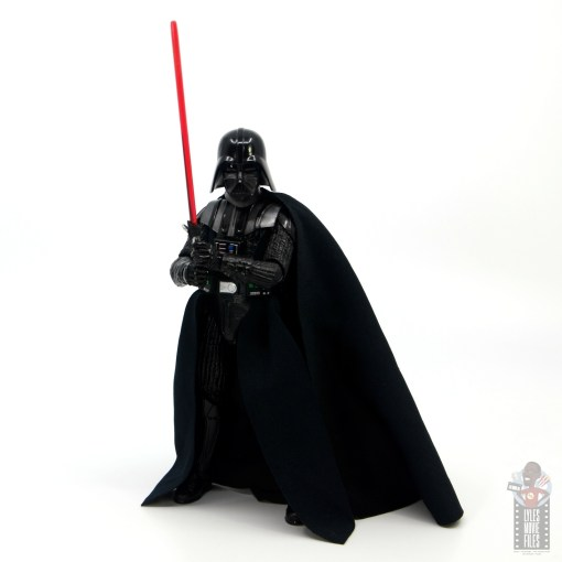 star wars the black series darth vader figure review - ready for a duel