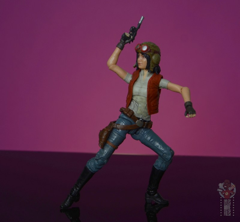 star wars the black series doctor aphra figure review - twisting