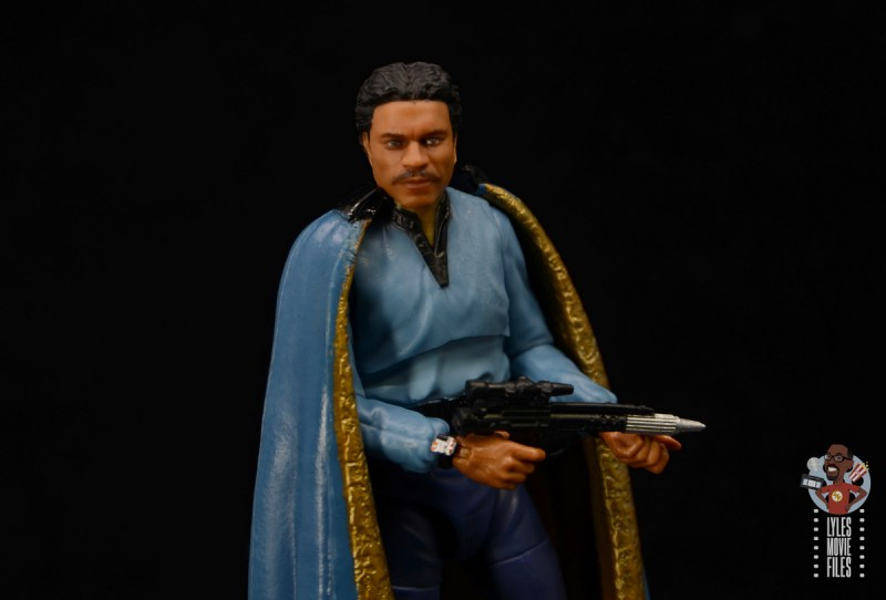 star wars the black series lando calrissian empire strikes back figure review - wide with blaster