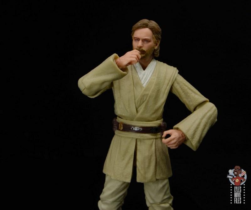 star wars the black series obi-wan kenobi figure review - pondering