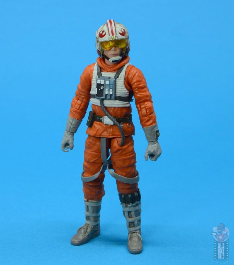 star wars the black series snowspeeder luke skywalker figure review - full outfit