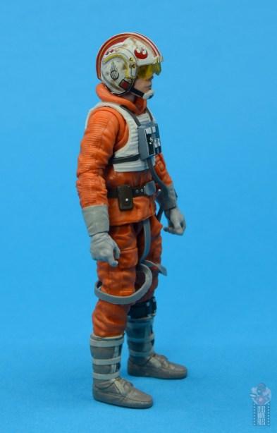 star wars the black series snowspeeder luke skywalker figure review -right side