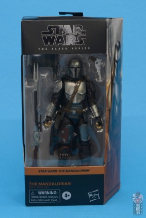 star wars the black series the mandalorian beskar armor figure review - package front