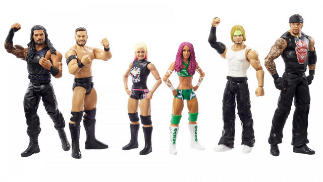 wwe championship showdown series 1 - full set