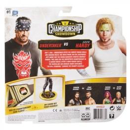 wwe championship showdown series 1 the undertaker vs jeff hardy - package rea