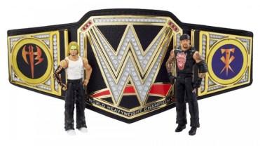 wwe championship showdown series 1 the undertaker vs jeff hardy - with belt plates