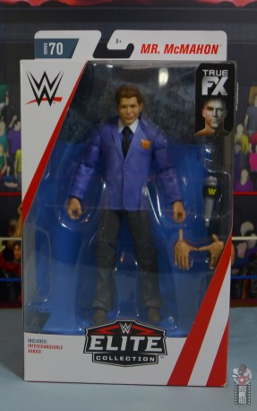 wwe elite vince mcmahon figure review - package front
