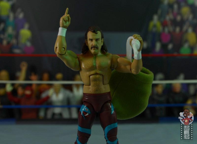 wwe legends 8 jake the snake roberts figure review - main pic