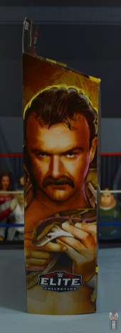 wwe legends 8 jake the snake roberts figure review - package side