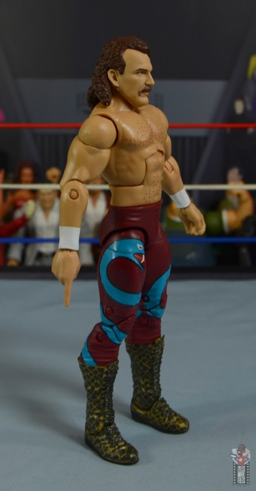 wwe legends 8 jake the snake roberts figure review -right side