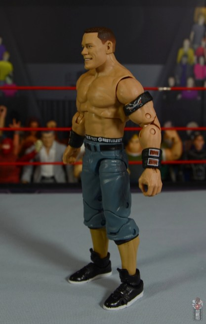 wwe ultimate edition john cena figure review - left side
