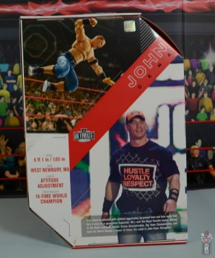 wwe ultimate edition john cena figure review - package rear
