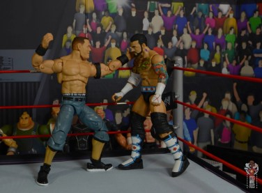 wwe ultimate edition john cena figure review - punching cm punk