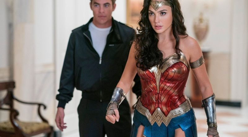 Wonder Woman 1984 - Steve Trevor and Wonder Woman