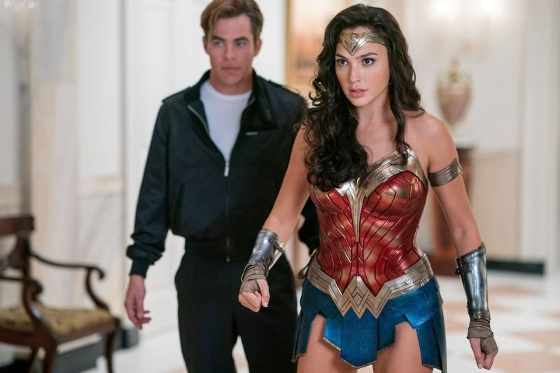 Wonder Woman 1984 - Steve Trevor and Wonder Woman