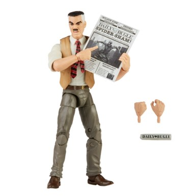 MARVEL LEGENDS SERIES 6-INCH-SCALE J. JONAH JAMESON RETRO COLLECTION Figure oop 2