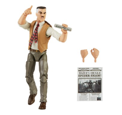 MARVEL LEGENDS SERIES 6-INCH-SCALE J. JONAH JAMESON RETRO COLLECTION Figure oop